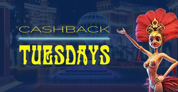 Cashback Tuesdays
