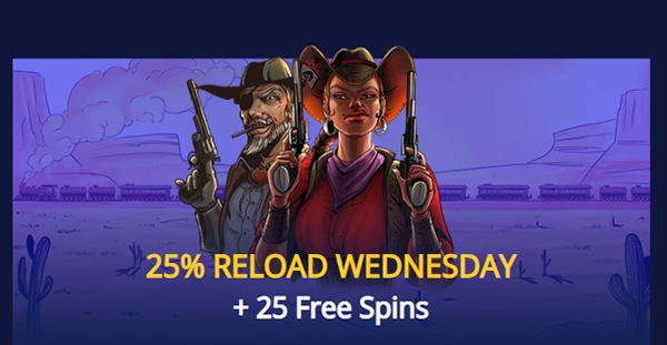 25% Reload Wednesdays