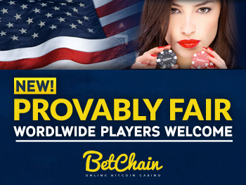 betchain casino adds provably fair gambling