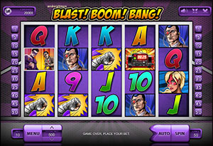 Blast boom bang slot game