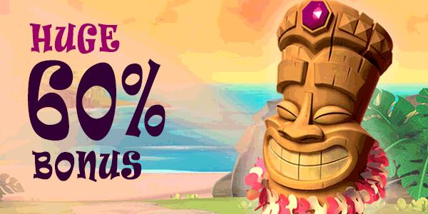 60% pleasure