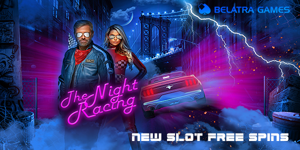 free spins the night racing