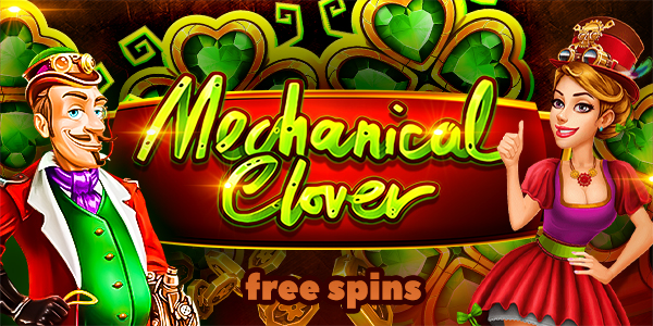 free-spins-mechanical-clover